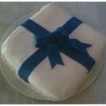 Ajándék doboz torta